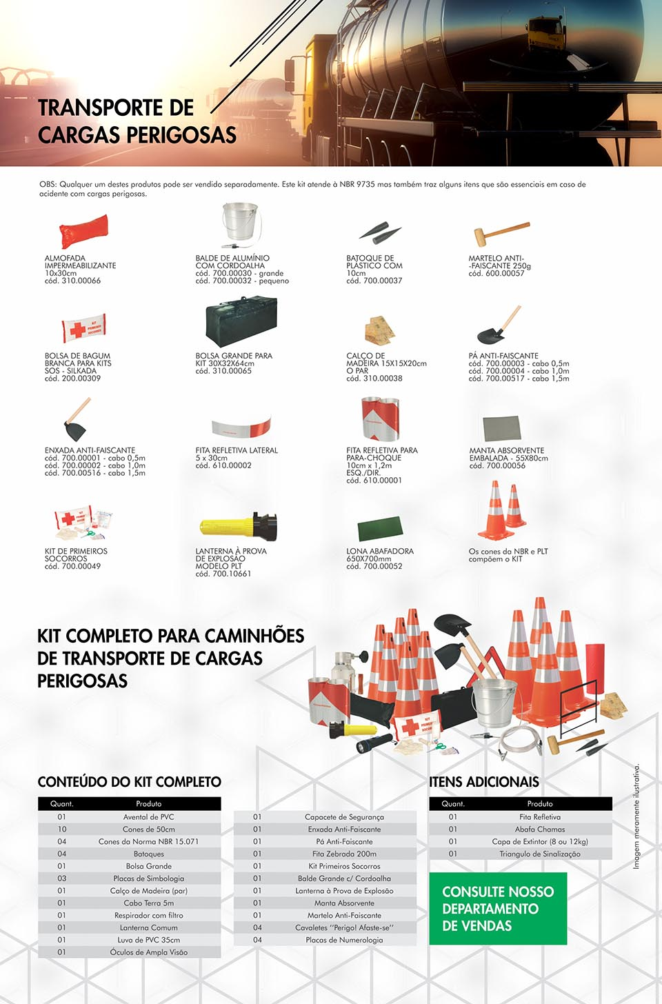 Plastcor do Brasil - KIT CARGAS PERIGOSAS 79e0fd46f0